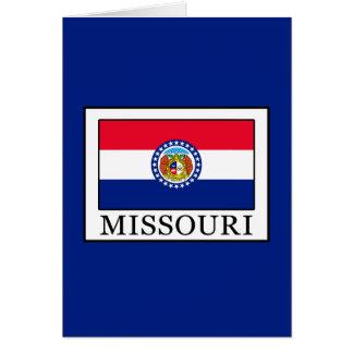 Missouri Card