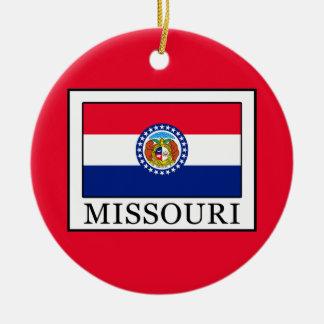Missouri Ceramic Ornament