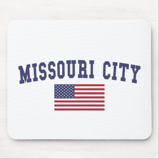 Missouri City US Flag Mouse Pad