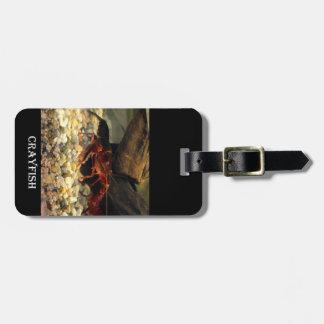 Missouri Crawfish Luggage Tag