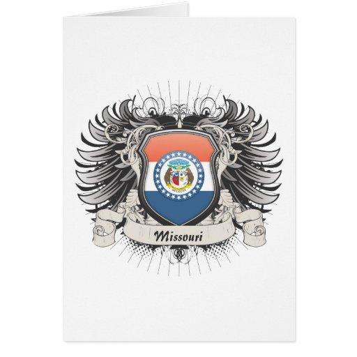 Missouri Crest Greeting Card