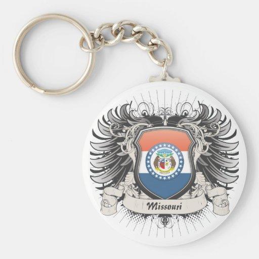 Missouri Crest Keychains