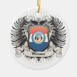 Missouri Crest Ornaments