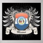 Missouri Crest Poster