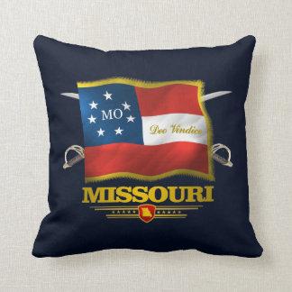 Missouri Deo Vindice Throw Pillow