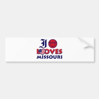 Missouri Designs Car Bumper Sticker