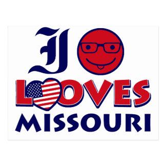 Missouri Designs Postcard