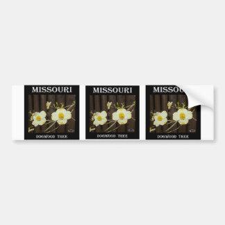 Missouri Dogwood Bumper Stickers