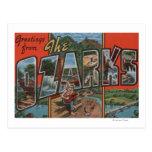 Missouri - el Ozarks - escenas grandes de la letra Postales