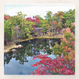 Missouri Fall Glass Coaster
