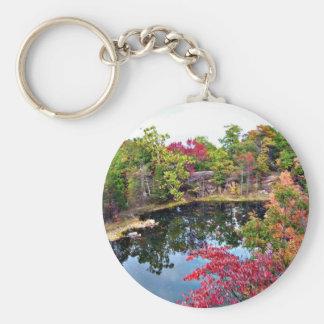 Missouri Fall Photograph Keychain