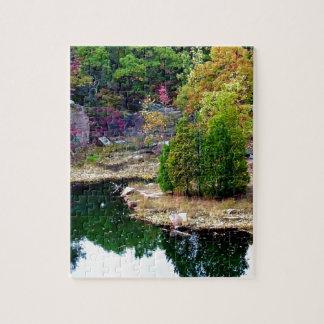 Missouri Fall Trees Photograph Jigsaw Puzzle
