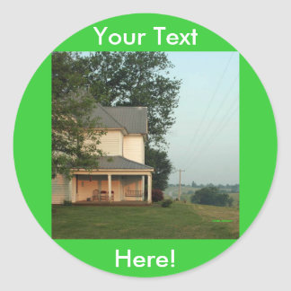 Missouri Farm Classic Round Sticker