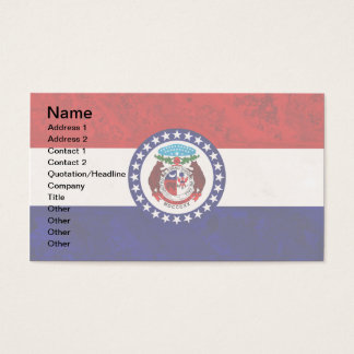 MISSOURI FLAG BUSINESS CARD