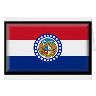 Missouri Flag Greeting Cards