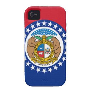Missouri Flag Vibe iPhone 4 Case