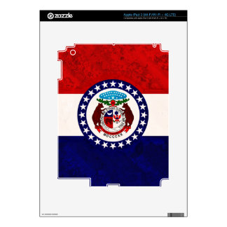 MISSOURI FLAG DECALS FOR iPad 3