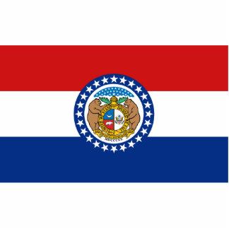 Missouri Flag Magnet Cut Out