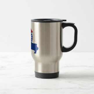 Missouri Flag Map Travel Mug