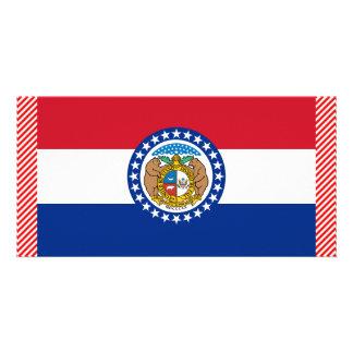 Missouri Flag Photo Cards