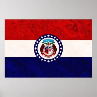 MISSOURI FLAG POSTER