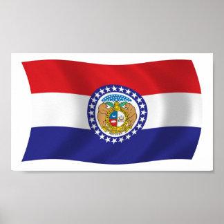 Missouri Flag Poster Print