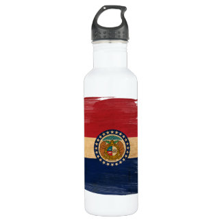 Missouri Flag Stainless Steel Water Bottle