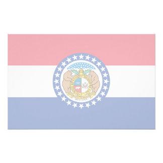 Missouri Flag Stationery Design
