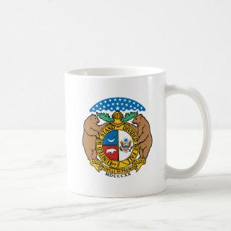 Missouri Flag Theme 00 Coffee Mugs