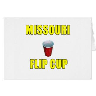 Missouri Flip Cup Card