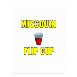 Missouri Flip Cup Postcard