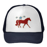 Missouri Fox Trotter Festive Stars Hat
