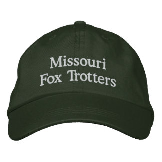 Missouri Fox Trotting Embroidered Baseball Hat