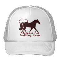 Missouri Fox Trotting Horse Hearts Mesh Hat