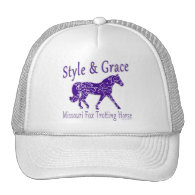 Missouri Fox Trotting Horse Style & Grace Mesh Hat