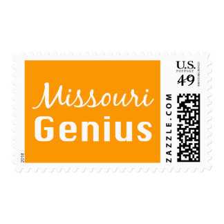 Missouri Genius Gifts Postage Stamps