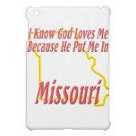 Missouri - God Loves Me iPad Mini Case
