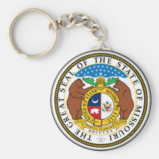 Missouri Great Seal Key Chains