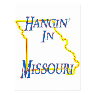 Missouri - Hangin' Post Card