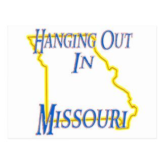 Missouri - Hanging Out Postcard
