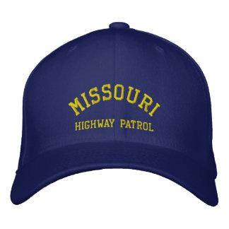 MISSOURI, HIGHWAY PATROL EMBROIDERED BASEBALL HAT