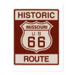 Missouri histórico Rt 66 Postal