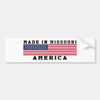 Missouri hizo en diseños pegatina de parachoque