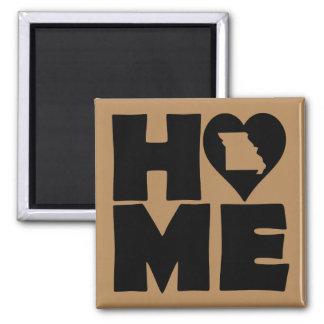 Missouri Home Heart State Fridge Magnet