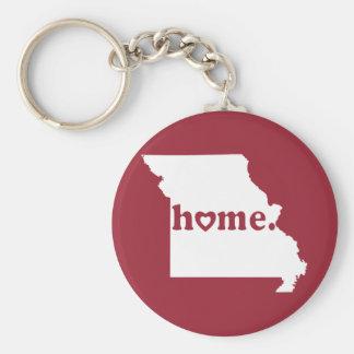 Missouri Home Keychain