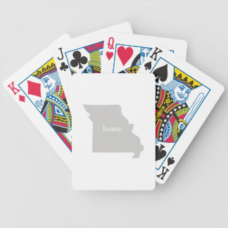 Missouri Home State Bicycle Playing Cards