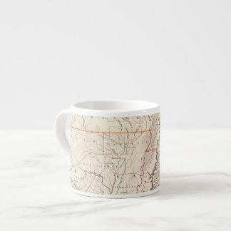 Missouri, Ill, Ky, Tenn, Ala, Miss, Ark Espresso Cup