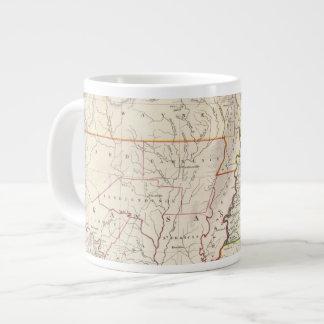 Missouri, Ill, Ky, Tenn, Ala, Miss, Ark Giant Coffee Mug