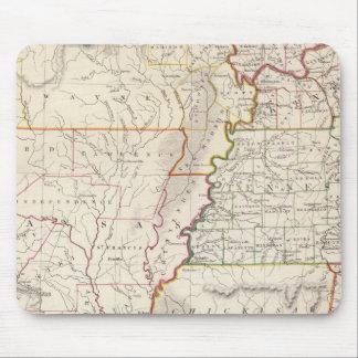 Missouri, Ill, Ky, Tenn, Ala, Miss, Ark Mouse Pad