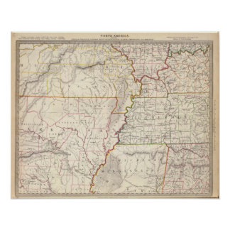 Missouri, Ill, Ky, Tenn, Ala, Miss, Ark Poster